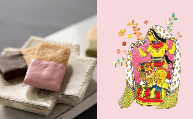神様の腹巻き(チョコレートクッキー)