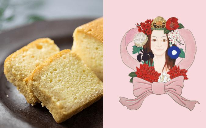 ミス・プールトゥジュール(ブランデーケーキ)